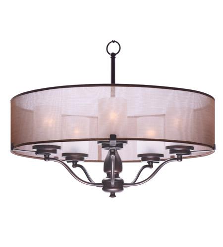 sc 1 st  Maxim Lighting & Maxim 24555TSOI Lucid 5 Light Oil Rubbed Bronze Pendant Ceiling Light azcodes.com
