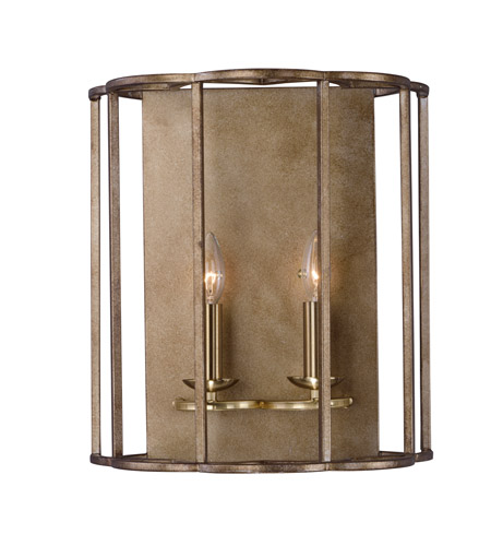 Maxim 24732BZF Helix 2 Light 15 inch Bronze Fusion Wall Sconce Wall ...