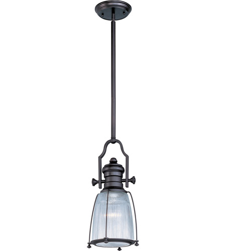Maxim Lighting Hi-Bay 1 Light Pendant in Bronze 25002CLBZ photo