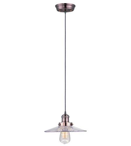 Maxim 25025CLACP Mini Hi-Bay 1 Light 10 inch Antique Copper Single Pendant Ceiling Light in Without Bulb photo
