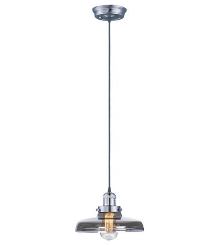 Maxim Lighting Mini Hi-Bay 1 Light Single Pendant in Satin Nickel 25027MSKSN photo