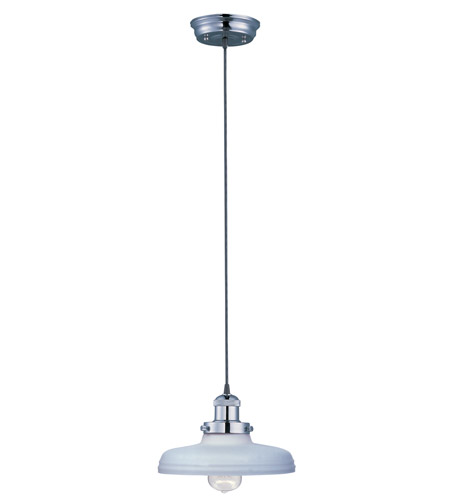 Maxim Lighting Mini Hi-Bay 1 Light Single Pendant in Polished Nickel 25027SWPN/BUI photo
