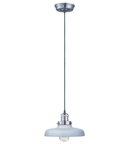 Maxim Lighting Mini Hi-Bay 1 Light Single Pendant in Satin Nickel 25027SWSN photo