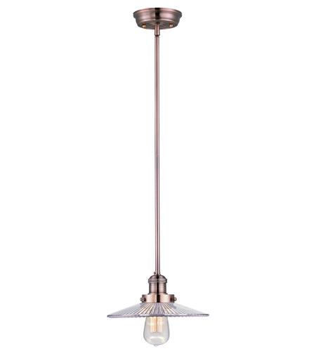 Maxim Lighting Mini Hi-Bay 1 Light Single Pendant in Antique Copper 25045CLACP photo