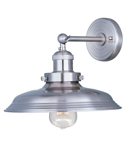 Maxim 25062SN Mini Hi-Bay 1 Light 11 inch Satin Nickel Wall Sconce Wall Light in Without Bulb photo