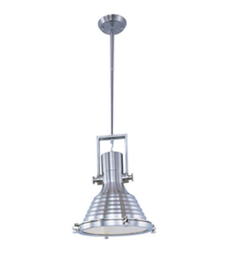 Maxim Lighting Hi-Bay 1 Light Pendant in Satin Nickel 25120FTSN photo