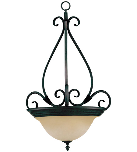 Maxim Lighting Pacific 3 Light Pendant in Kentucky Bronze 2654WSKB photo