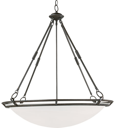 Maxim Lighting Stratus 6 Light Pendant in Bronze 2671MRBZ photo