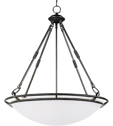 Maxim Lighting Stratus 5 Light Pendant in Bronze 2673MRBZ photo