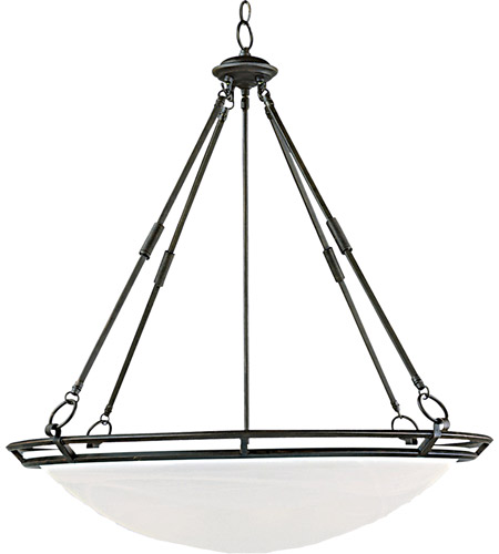 Maxim 2674MRBZ Stratus 6 Light 28 inch Bronze Pendant Ceiling Light photo