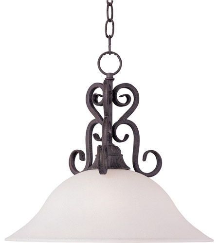 Maxim Lighting Canyon Rim 1 Light Pendant in Canyon Rock 27511SVCR photo