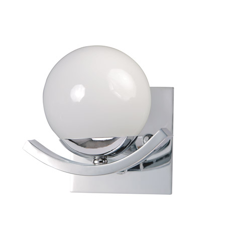 Maxim 27551WTPC Motion 1 Light 7 inch Polished Chrome Wall Sconce Wall Light photo