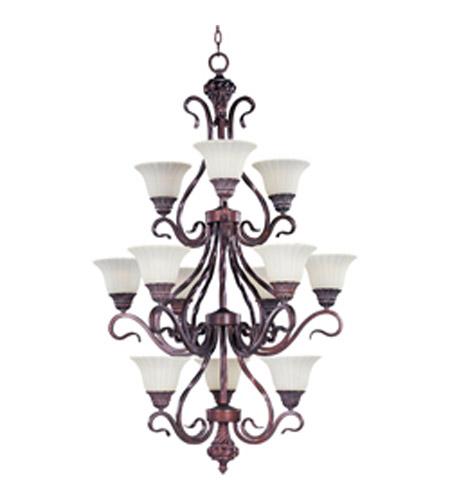 Maxim lighting via roma 12 light multi tier chandelier in greek maxim lighting via roma 12 light multi tier chandelier in greek bronze 2778svgb aloadofball Gallery