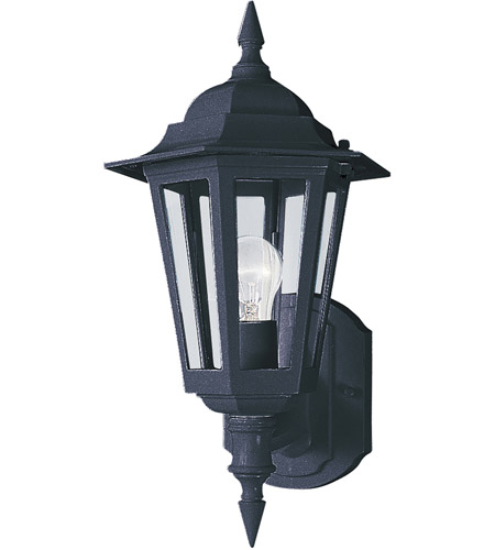 Maxim Lighting Builder Cast 1 Light Outdoor Wall Mount in Black 3000CLBK photo