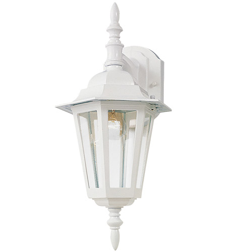 Maxim 3002CLWT Builder Cast 1 Light 17 inch White Outdoor Wall Mount photo