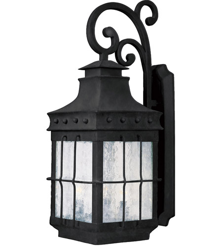 Maxim 30084CDCF Nantucket 3 Light 23 inch Country Forge Outdoor Wall Mount photo
