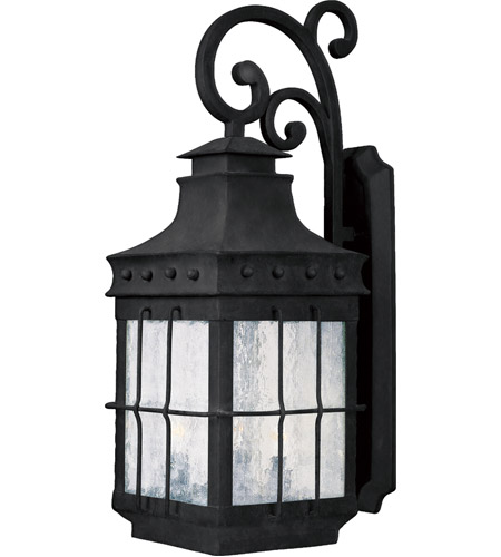 Maxim Lighting Nantucket 4 Light Outdoor Wall Mount in Country Forge 30085CDCF photo