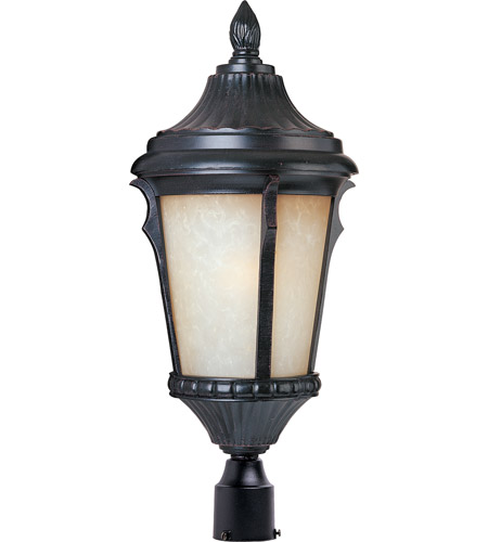 Maxim Lighting Odessa 1 Light Outdoor Pole/Post Lantern in Espresso 3010LTES photo