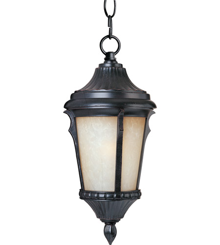 Maxim Lighting Odessa 1 Light Outdoor Hanging Lantern in Espresso 3018LTES photo