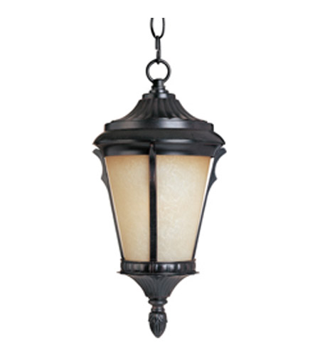 Maxim Lighting Odessa 1 Light Outdoor Hanging Lantern in Espresso 3019LTES photo