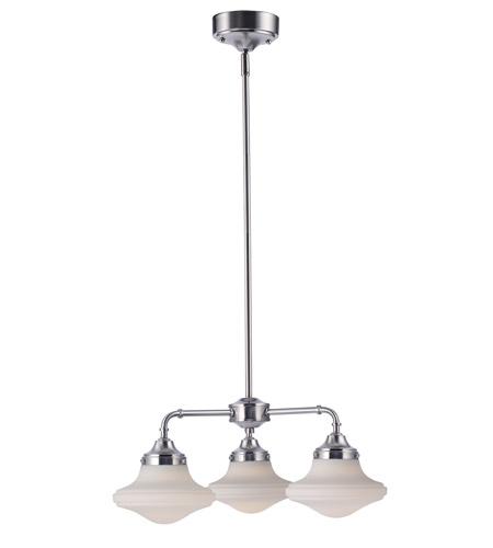 Maxim 30243SWSN New School LED 22 inch Satin Nickel Mini Chandelier Ceiling Light photo