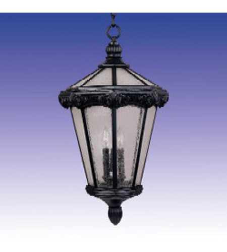 Maxim Lighting Essex 3 Light Outdoor Hanging Lantern in Oriental Bronze 30262CDOB photo