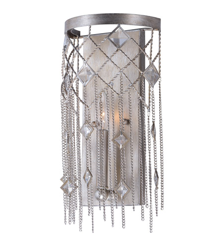 Maxim 30272SM Alessandra 1 Light 8 inch Silver Mist Wall Sconce Wall Light photo