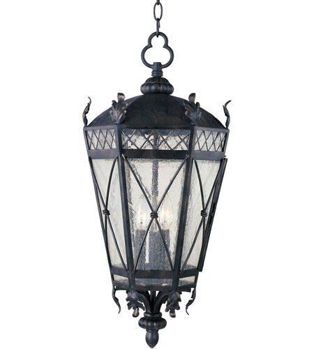 Maxim Lighting Canterbury 3 Light Outdoor Hanging Lantern in Artesian Bronze 30459CDAT photo