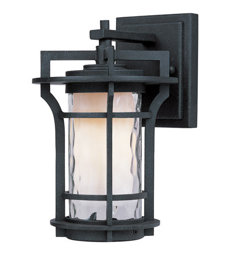 Maxim 30482WGBO Oakville 1 Light 10 inch Black Oxide Outdoor Wall Mount photo thumbnail