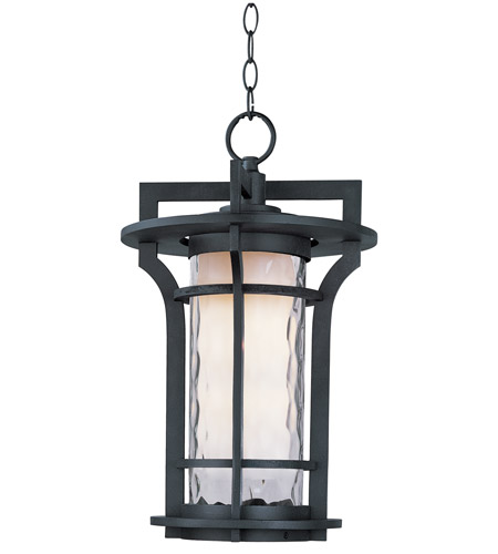 Maxim 30488WGBO Oakville 1 Light 12 inch Black Oxide Outdoor Hanging Lantern photo