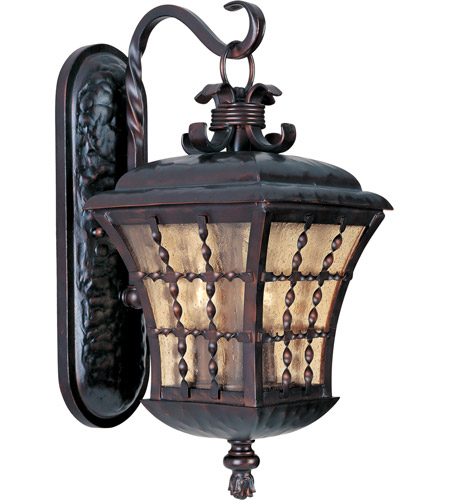 Maxim 30495ASOI Orleans 3 Light 21 inch Oil Rubbed Bronze Outdoor Wall Mount photo