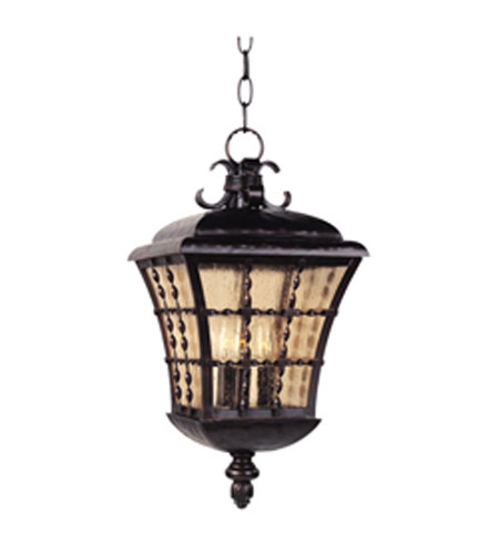 Maxim Lighting Orleans 3 Light Outdoor Hanging Lantern in Oil Rubbed Bronze 30498ASOI photo
