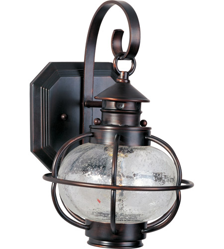 Maxim 30502CDOI Portsmouth 1 Light 13 inch Oil Rubbed Bronze Outdoor Wall Mount photo