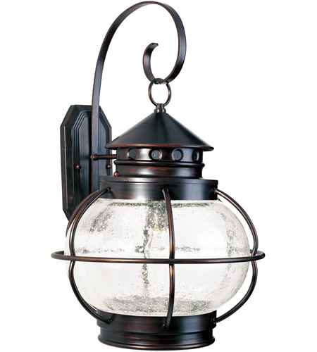 Maxim 30504CDOI Portsmouth 1 Light 23 inch Oil Rubbed Bronze Outdoor Wall Mount photo