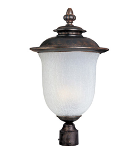 Maxim Lighting Cambria DC 2 Light Outdoor Pole/Post Lantern in Chocolate 3090FCCH photo