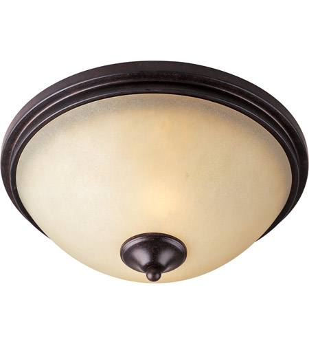 Maxim 31000WSCU Richmond 2 Light 14 inch Colonial Umber Flush Mount Ceiling Light photo