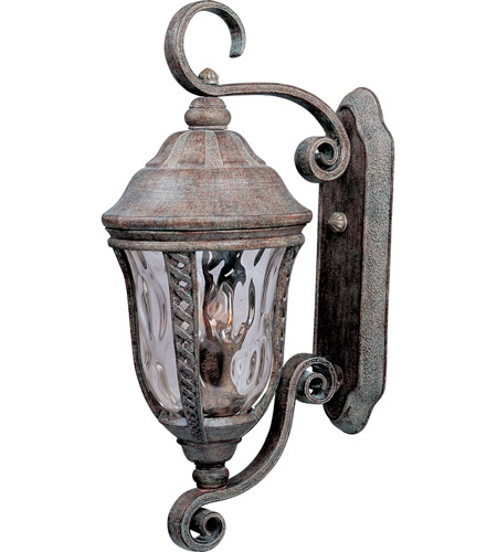 Maxim 3108WGET Whittier DC 3 Light 26 inch Earth Tone Outdoor Wall Mount photo