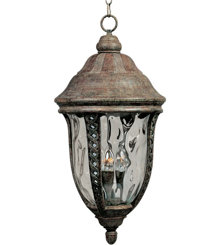 Maxim 3111WGET Whittier DC 3 Light 12 inch Earth Tone Outdoor Hanging Lantern photo