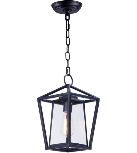 Light 8 Inch Black Outdoor Hanging