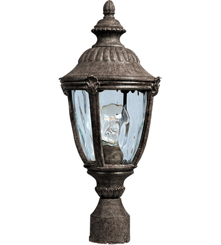 Maxim 3180WGET Morrow Bay DC 1 Light 20 inch Earth Tone Outdoor Pole/Post Lantern photo