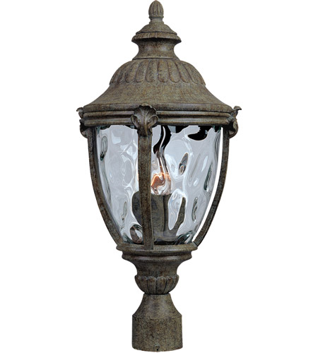 Maxim Lighting Morrow Bay DC 3 Light Outdoor Pole/Post Lantern in Earth Tone 3181WGET photo