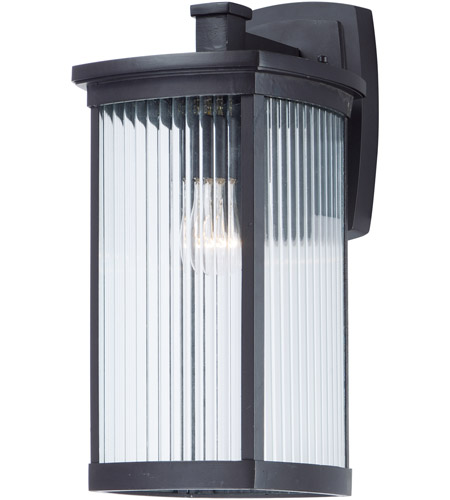 Maxim 3254CRBZ Terrace 1 Light 16 inch Bronze Outdoor Wall Sconce in Clear photo