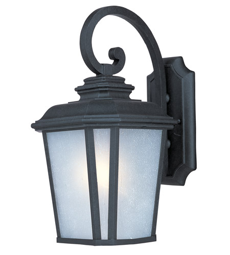 Maxim 3344WFBO Radcliffe 1 Light 17 Inch Black Oxide Outdoor Wall Mount  Photo
