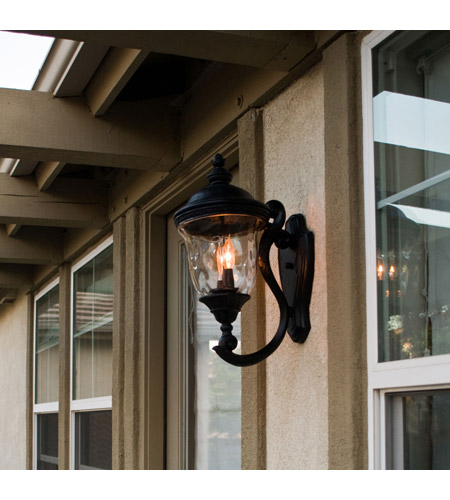 Maxim 3423WGOB Carriage House DC 2 Light 20 inch Oriental Bronze Outdoor Wall Mount alternative photo thumbnail