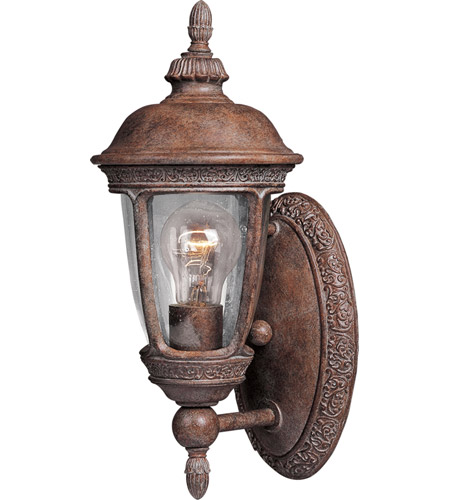 Maxim 3462CDSE Knob Hill DC 1 Light 14 inch Sienna Outdoor Wall Mount photo