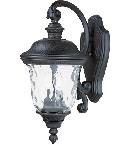 Maxim Lighting Carriage House DC 2 Light Outdoor Wall Mount in Oriental Bronze 3496WGOB photo