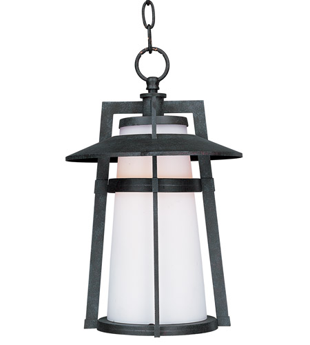 Maxim 3539SWAE Calistoga 1 Light 10 inch Adobe Outdoor Hanging Lantern photo