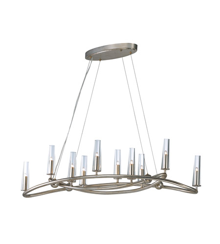 Maxim 38498clgs entwine 10 light 44 inch golden silver single tier maxim 38498clgs entwine 10 light 44 inch golden silver single tier chandelier ceiling light aloadofball Images