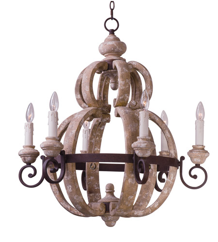Maxim Senora Wood Chandeliers
