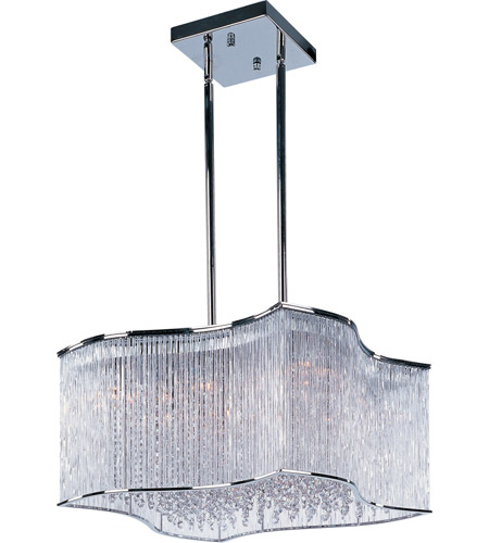 Maxim 39705CLPC Swizzle 20 Light 25 inch Polished Chrome Single Pendant Ceiling Light photo